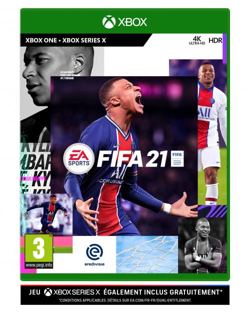 FIFA 21 XBOX ONE / XBOX SERIES X OPTIMISED (upgrade free)