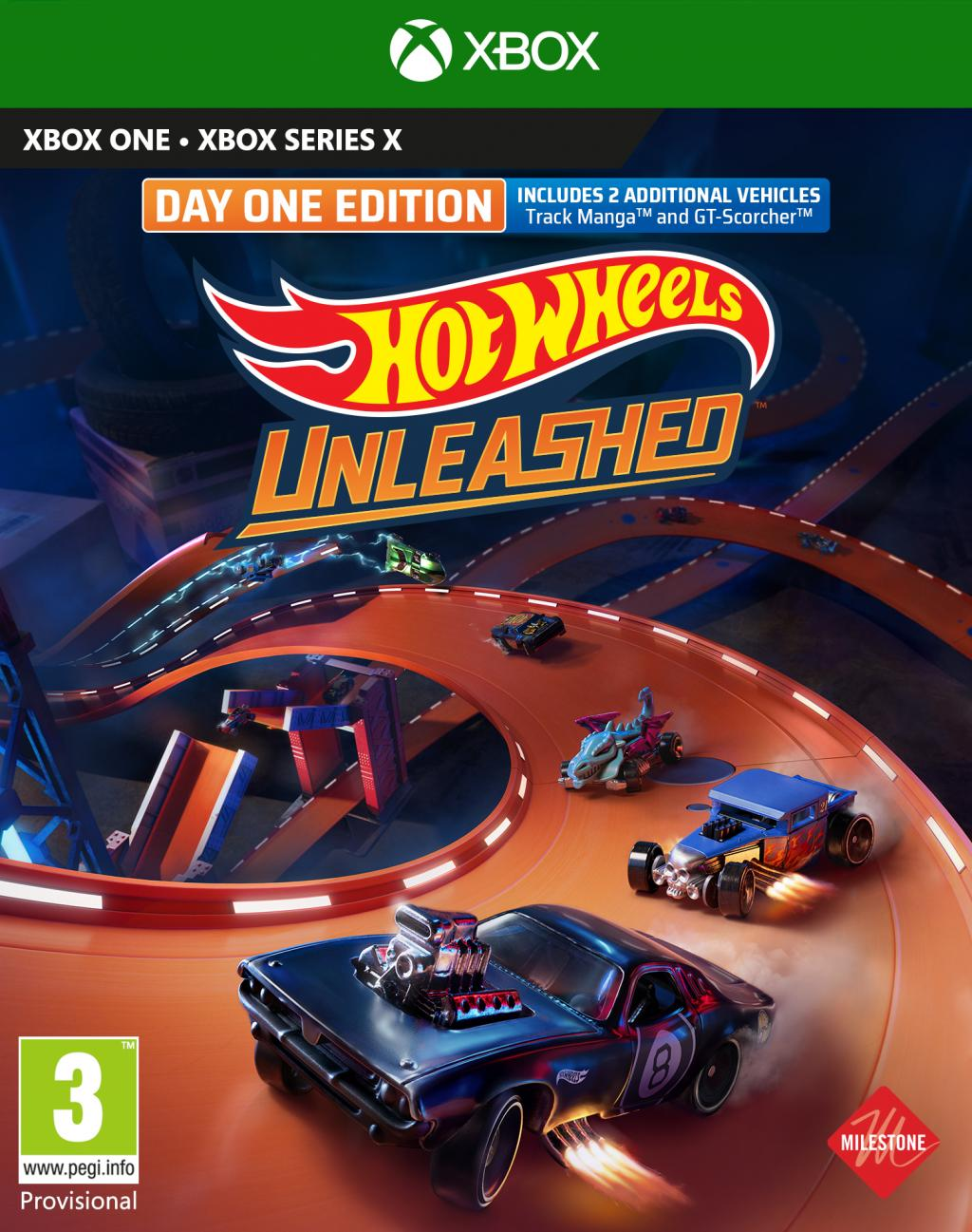 Hot Wheels Unleashed Day One Edition XBOX ONE / XBOX SX_1