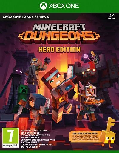 Minecraft Dungeons: Hero Edition XBOX ONE / XBOX SERIES X