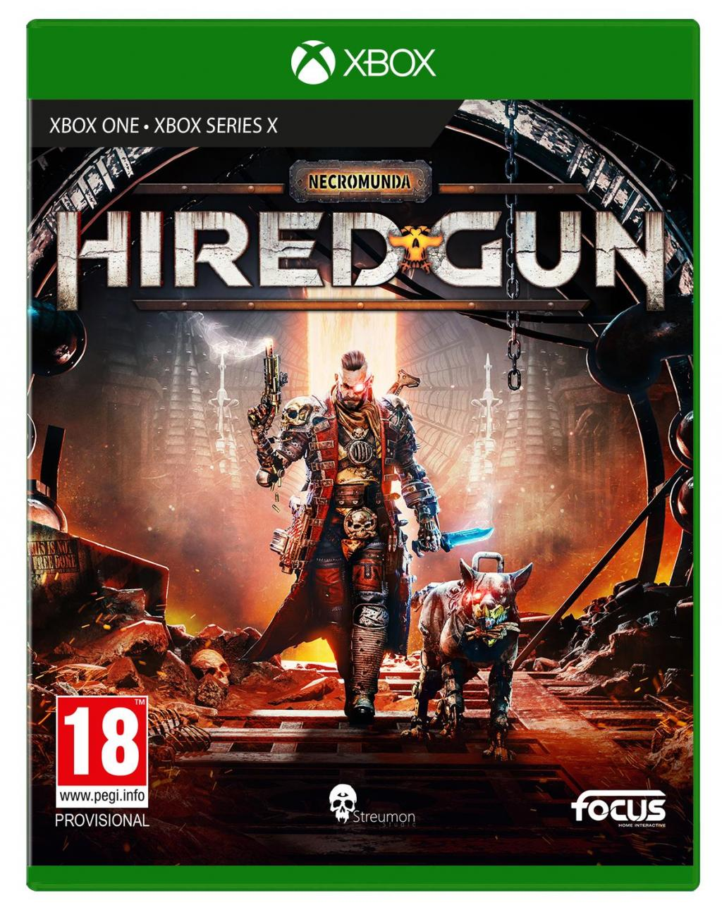 Necromunda - HIRED GUN - XBOX ONE / XBOX SX ( BOX UK)_1
