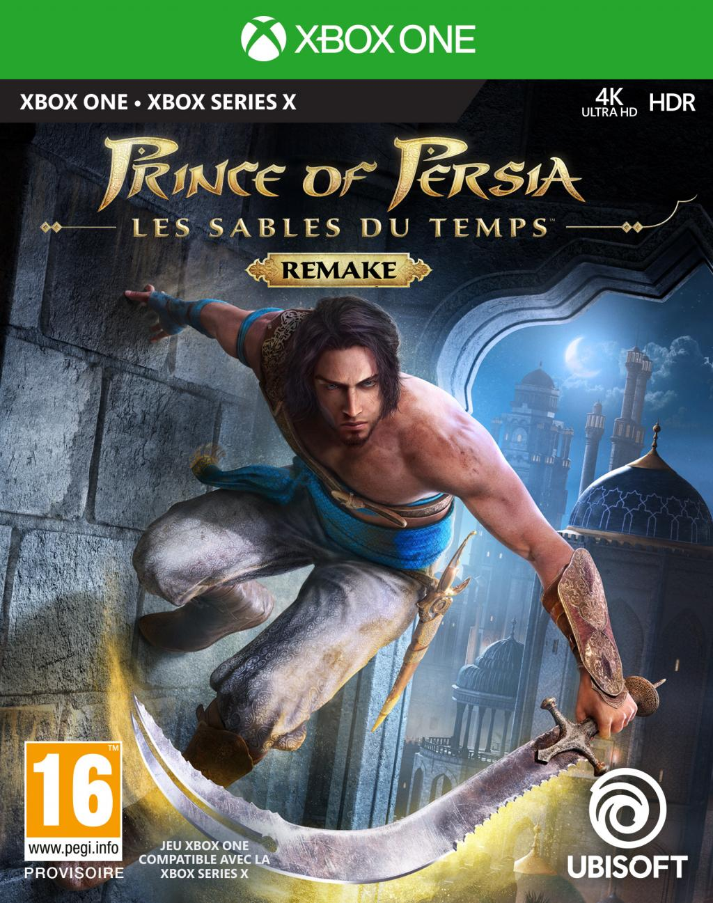 Prince of Persia : The Sands of Time REMAKE - XB ONE / SERIES X_1