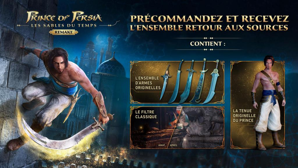 Prince of Persia : The Sands of Time REMAKE - XB ONE / SERIES X_2