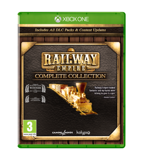 Railway Empire Complete Collection (Box UK )