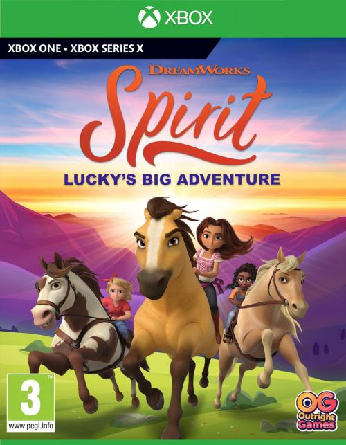 Spirit : Lucky's Big Adventure (BOX UK)