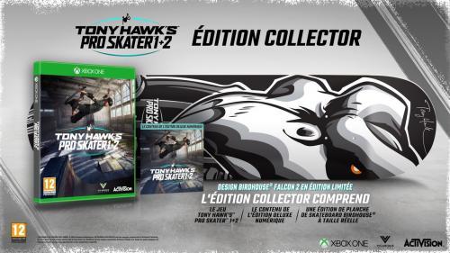 Tony Hawk Pro Skater 1+2 Collector Edition