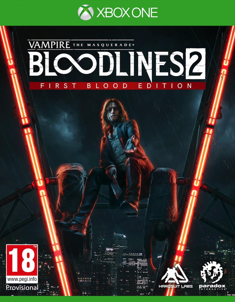 Vampire:The Masquerade Bloodlines 2 - First Blood Edition_1