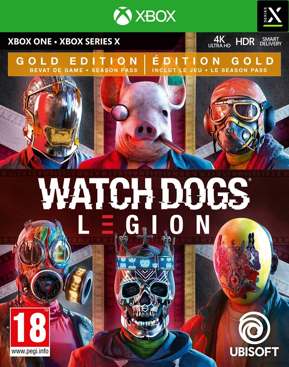 Watch Dogs Legion Gold Edition - XBOX ONE / XBOX SERIES X_1