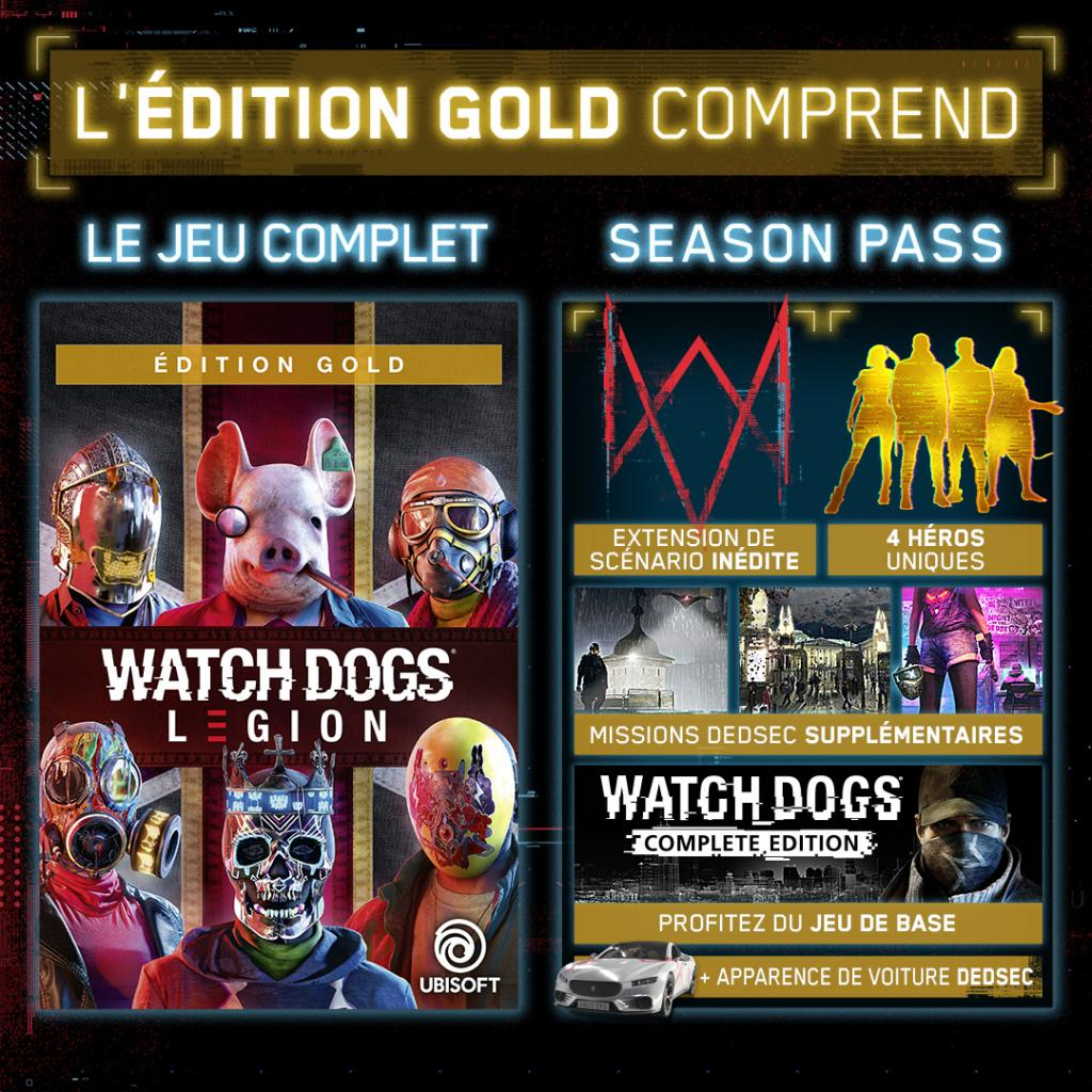 Watch Dogs Legion Gold Edition - XBOX ONE / XBOX SERIES X_2