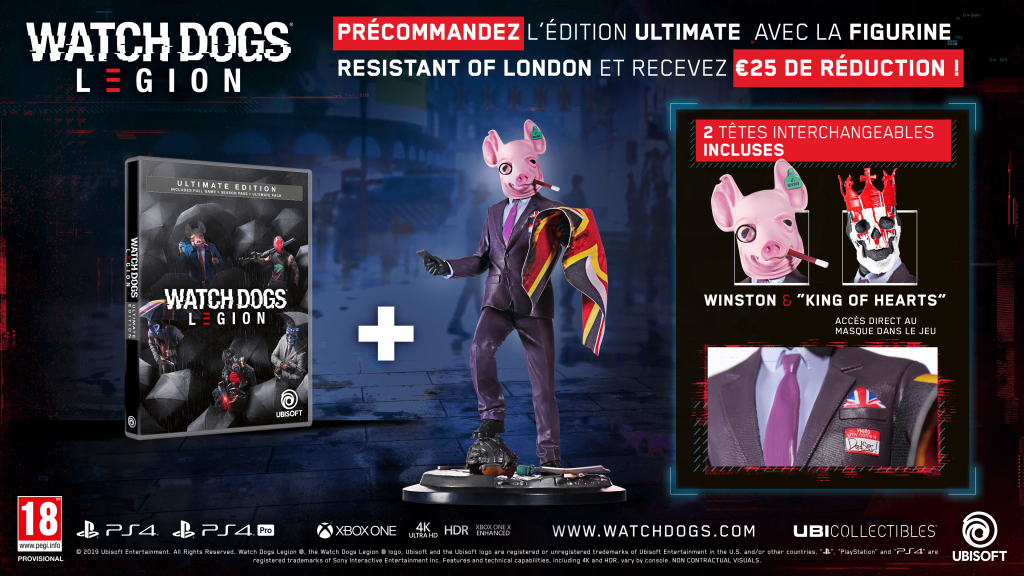 Watch Dogs Legion Ultimate Edition + Figurine The Resistant of London_2