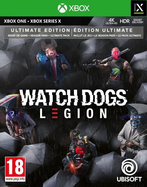 Watch Dogs Legion Ultimate Edition - XBOX ONE / XBOX SERIES X