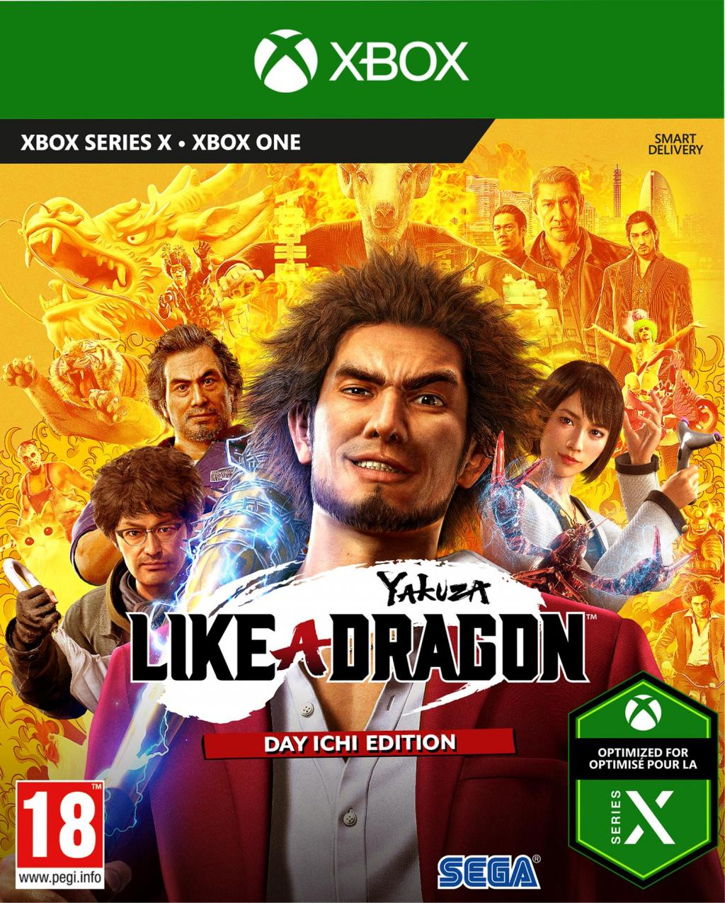 Yakuza: Like A Dragon - Day Ichi Edition (JPN & UK voice) XBONE & XBSX_1