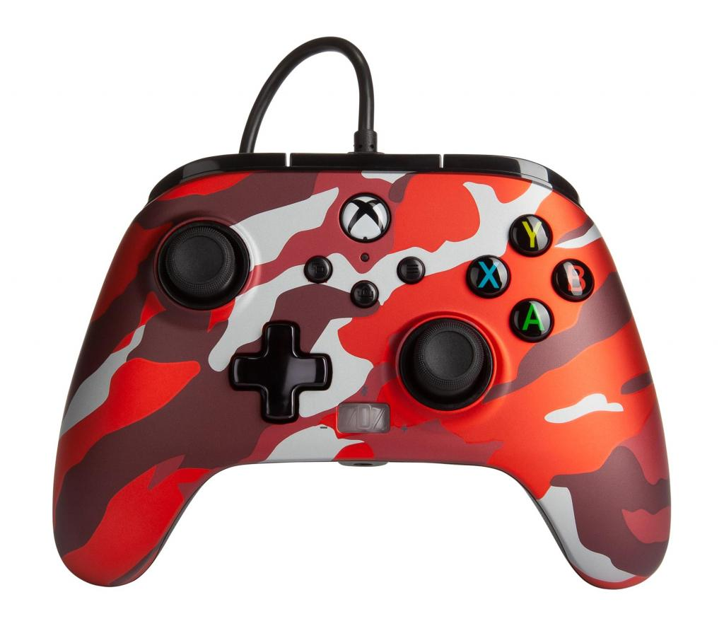 POWER A - Wired Controller Enhanced - Camo Red Xbox Series X_1