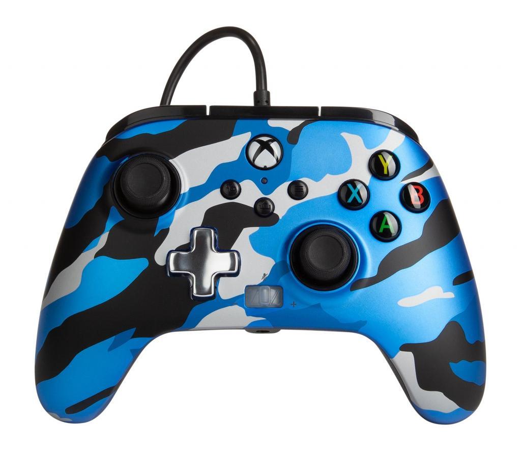 POWER A - Wired Controller Enhanced - Camo Blue Xbox Series X_1