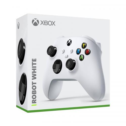 Control Pad Wireless Officiel Robot White  XBOX SX /WIN10/IOS/ANDROID