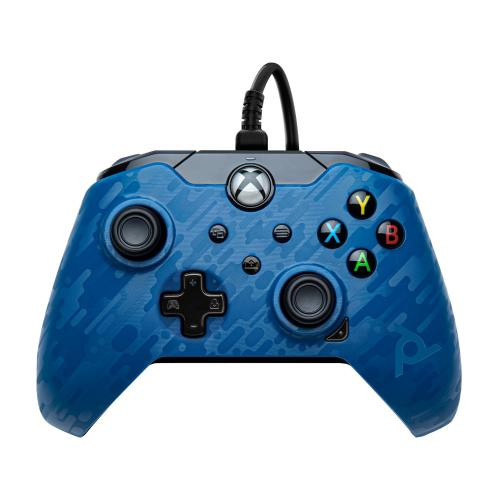 Wired Controller Official XBOX Series X Camo Blue