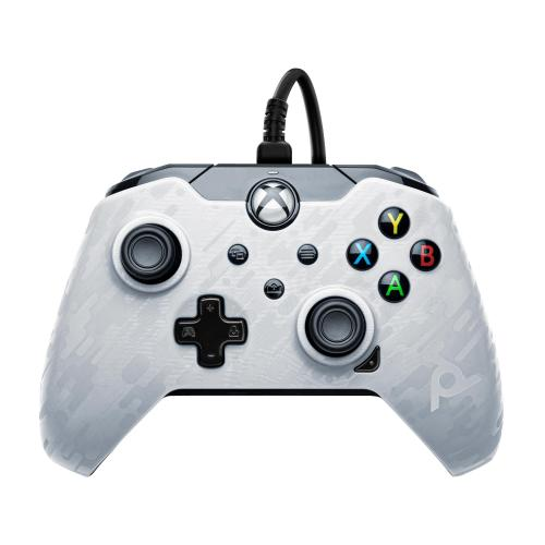 Wired Controller Official XBOX Series X Camo White