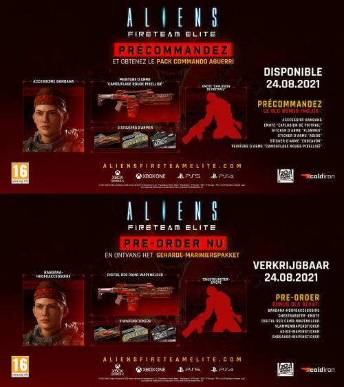 Aliens: Fireteam Elite (BOX UK) - XBOX ONE & XBOX SX