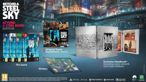 Beyond a Steel Sky - Beyond a Steelbook Edition - XBOX SX & XBOX ONE