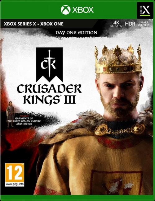 Crusader Kings III - Day One Edition (BOX UK)