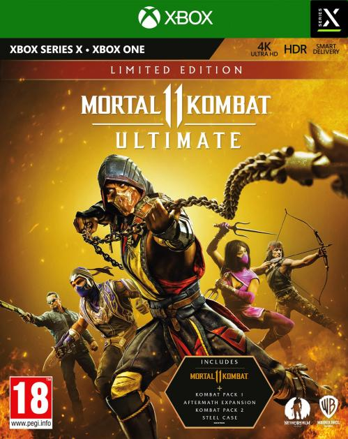 Mortal Kombat 11 Ultimate - Limited Edition  XBOX SX - XBOX ONE