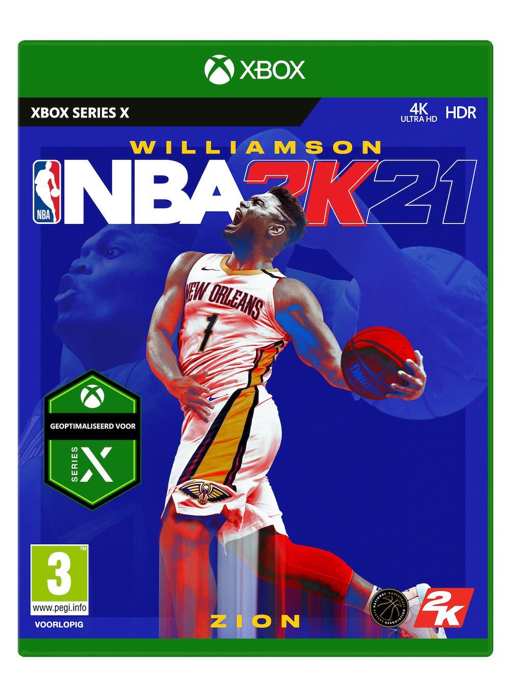 NBA 2K21 XBOX Series X_1