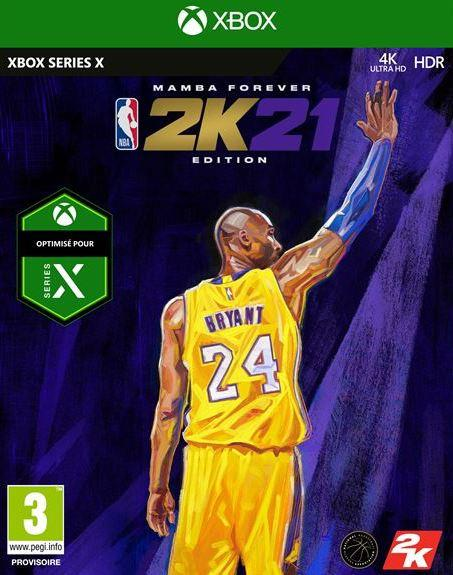 NBA 2K21 Mamba Forever Edition XBOX SX_1