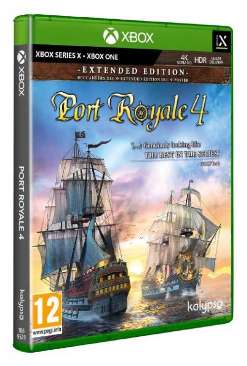 Port Royale 4 - XBOX ONE & XBOX SX ( BOX UK)