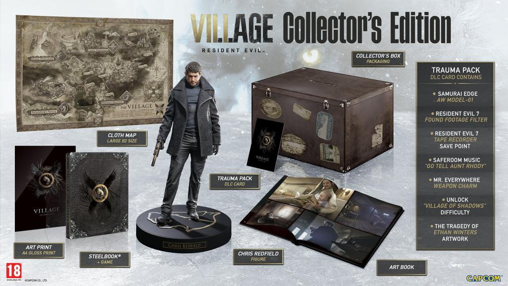 Resident Evil Village Collector's Edition* XBOX ONE / XBOX SX_1