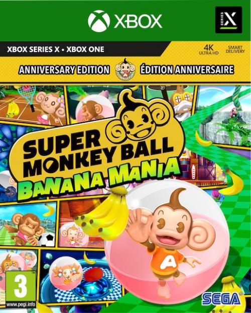 Super Monkey Ball Banana Mania - Day One Edition  (BOX UK)