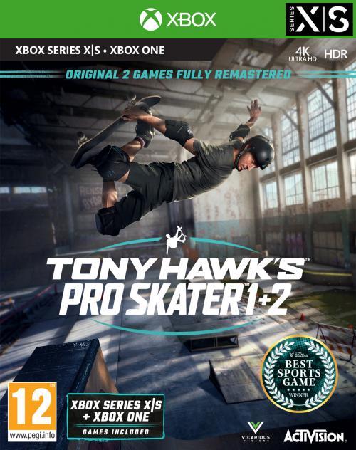 Tony Hawk's Pro Skater 1+2 - XBOX SX & XBOX ONE