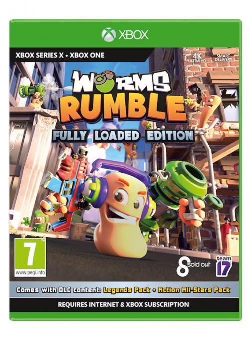 WORMS Rumble - XBOX SX & XBOX ONE